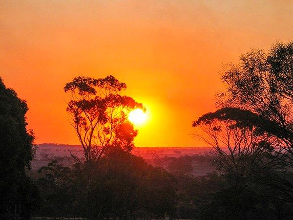 Sunset at Cranmore